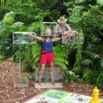 Dschungelduell 5 - Jenny Elvers mit den Boxen