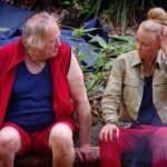 Dschungelcamp Tag 4 - Gunter Gabriel und Jenny Elvers