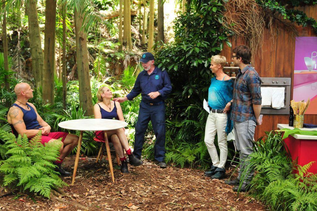 Thorsten Legat und Helena Fürst müssen als Team bei der Dschungelprüfung antreten.