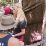 Dschungelcamp Tag 5 - Jenny Elvers und David Ortega