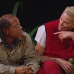 Dschungelcamp Tag 5 - Ricky Harris und Brigitte Nielsen