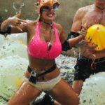 Dschungelcamp Tag 6 - Sophia Wollersheim bei der Schatzsuche