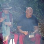 Dschungelcamp Tag 8 - Rolf Zacher und Thorsten Legat