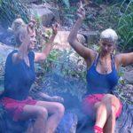 Dschungelcamp Tag 8 - Jenny Elvers und Sophia Wollersheim