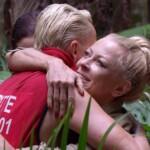 Dschungelcamp Tag 10 - Jenny verabschiedet sich von Brigitte
