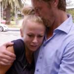 Dschungelcamp Tag 10 - Jenny wird von Mann Steffen empfangen