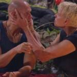 Dschungelcamp Tag 10 - Thorsten Legat und Brigitte Nielsen
