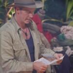 Dschungelcamp Tag 12 – Jürgen liest Nathalies Brief vor