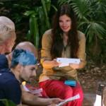 Dschungelcamp Tag 12 - Nathalie erhält Brief von ihrer Mutter