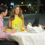 Der Bachelor 2016 Folge 2 - Leonard beim Dinner mit Leonie Rosella und Jasmin