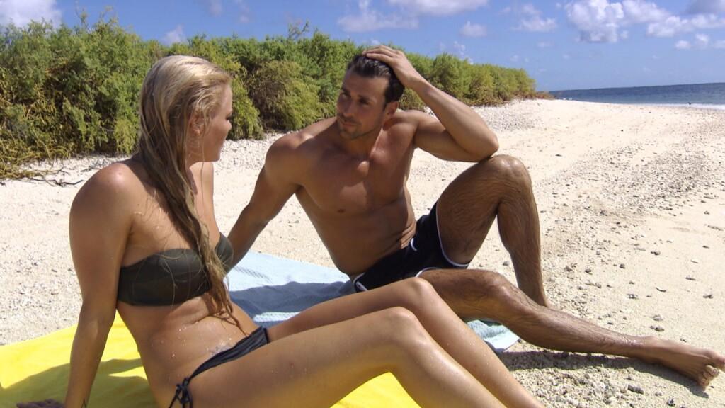 Daniela und Leonard im Gespräch.