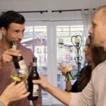 Der Bachelor 2016 Folge 6 - Leonard mit Denise und ihrem Stiefvater Sascha
