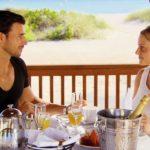 Der Bachelor 2016 Folge 7 - Leonie und Leonard beim Dinner
