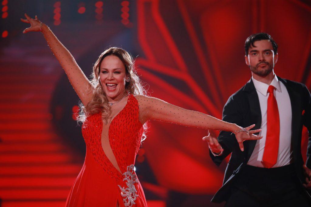 Sonja Kirchberger und Ilia Russo, © RTL / Stefan Gregorowius