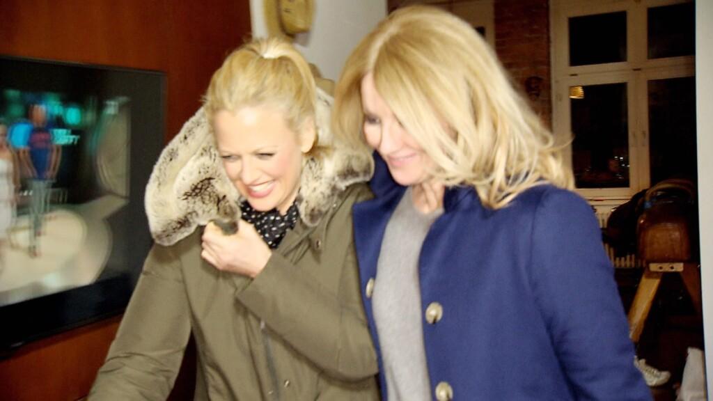 Frauke Ludowig und Barbara Schöneberger, © RTL