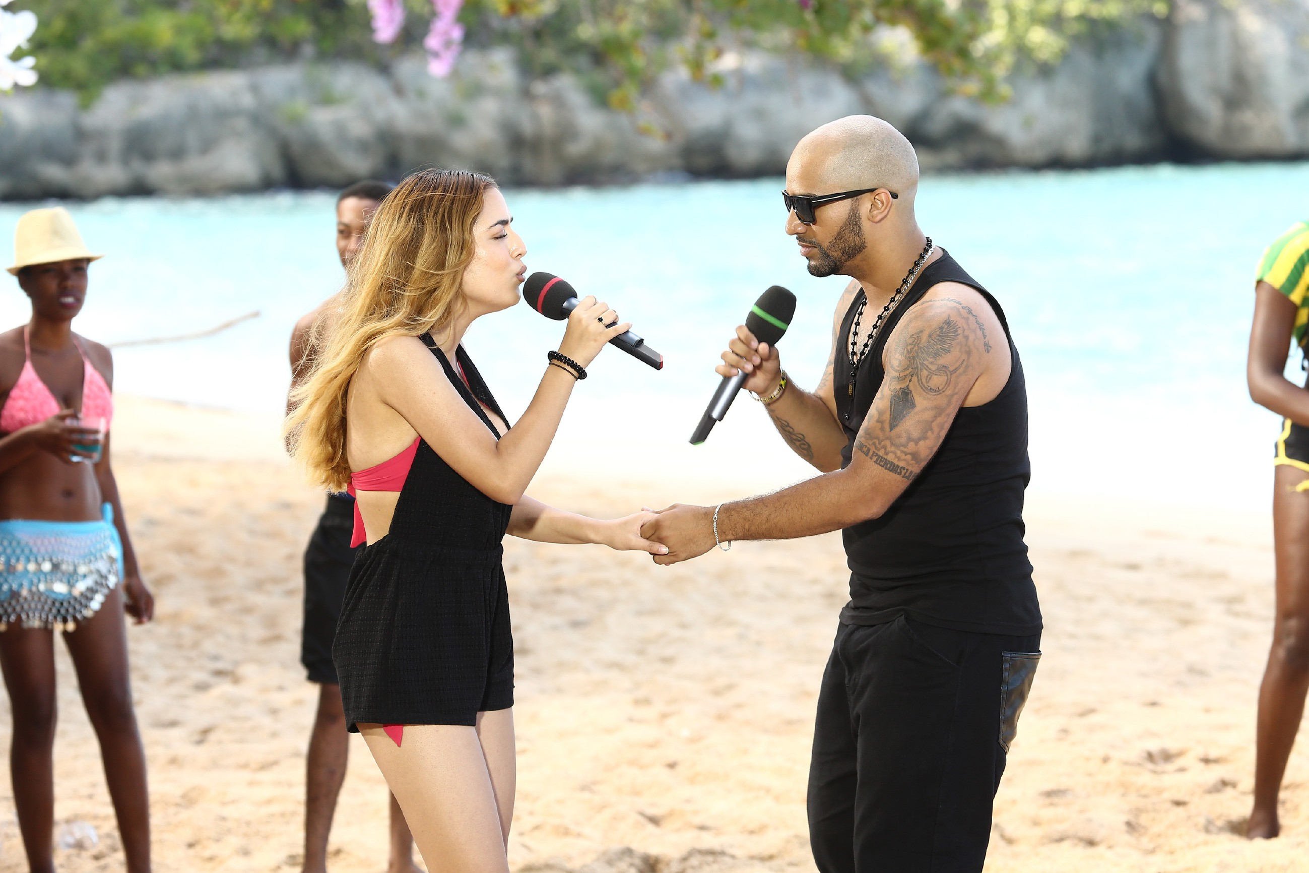 DSDS 2016 Show 16 - Ramona Mihajilovic und Jason Acosta Medina