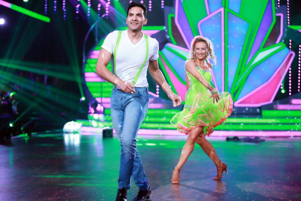 Attila Hildmann und Oxana Lebedew, © RTL / Stefan Gregorowius