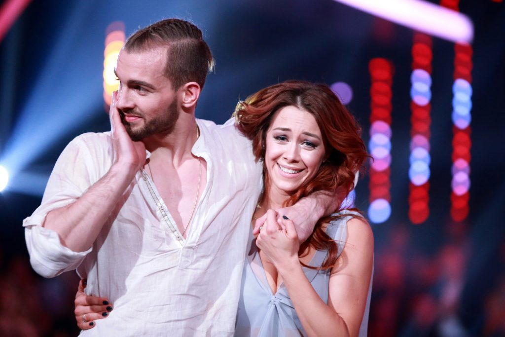 "Eric Stehfest und Oana Nechiti bei ""Let's Dance""."