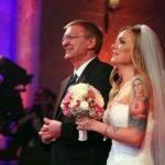 DSDS 2016 Hochzeit - Sandra Berger und ihr Vater Damian Schittko
