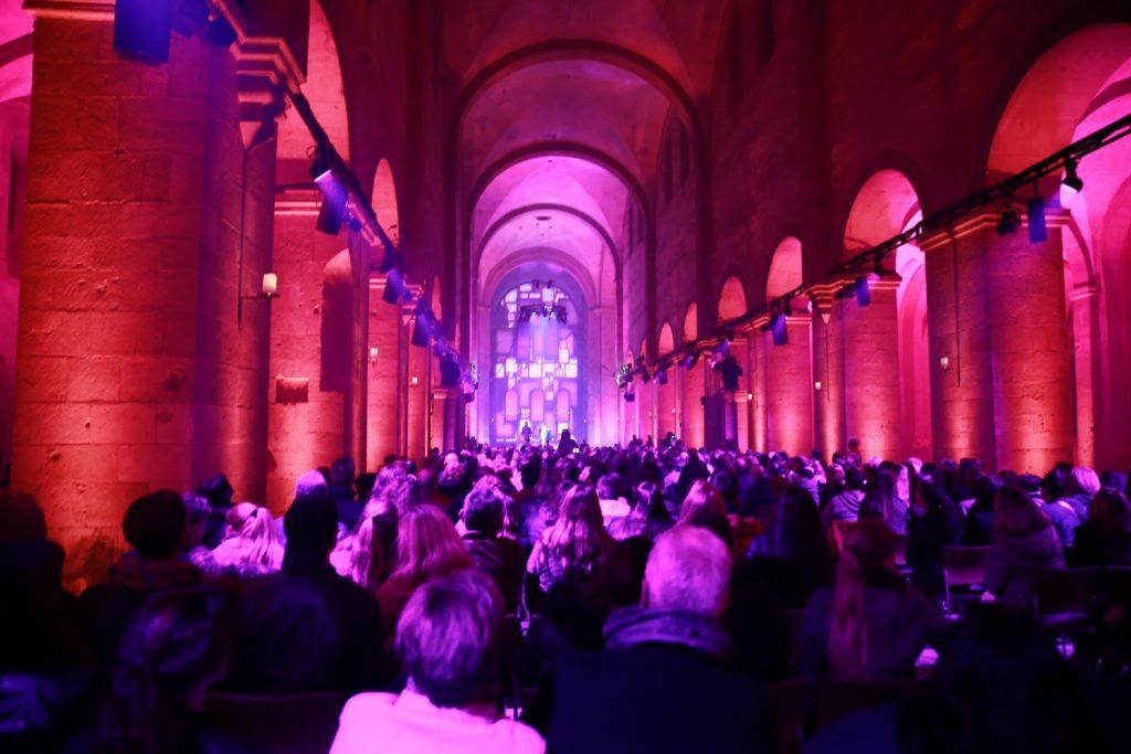 Die zweite Event-Show im Kloster Eberbach.