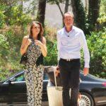 Das Sommerhaus der Stars -  Ankunft Alexander Posth und Angelina Ewerhardy