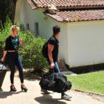 Das Sommerhaus der Stars - Ankunft Xenia Prinzessin von Sachsen und Rajab Hassan