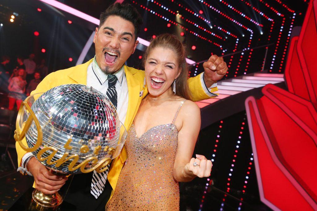 """Victoria Swarovski mit Tanzpartner Erich Klann ist """"Dancing Star 2016"""""""
