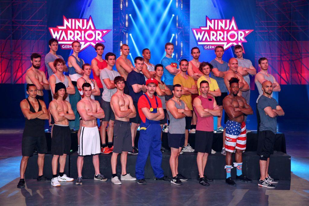 """Diese 28 Athleten treten im Finale von """"Ninja Warrior Germany"""" an."""