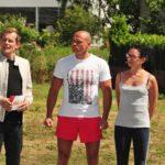 Das Sommerhaus 2016 Finale - Thorsten und Alexandra Legat beim Halbfinale-Spiel