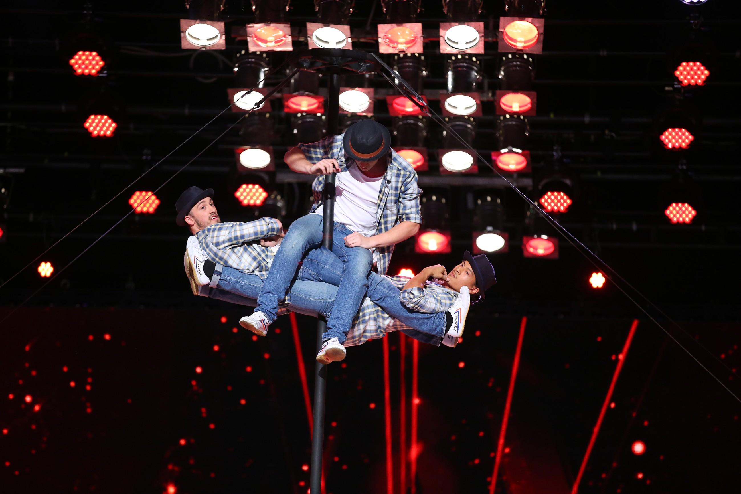 Das Supertalent 2016 - Toan Le, Milu Chuh und Ferenc-Manuel Heinrich