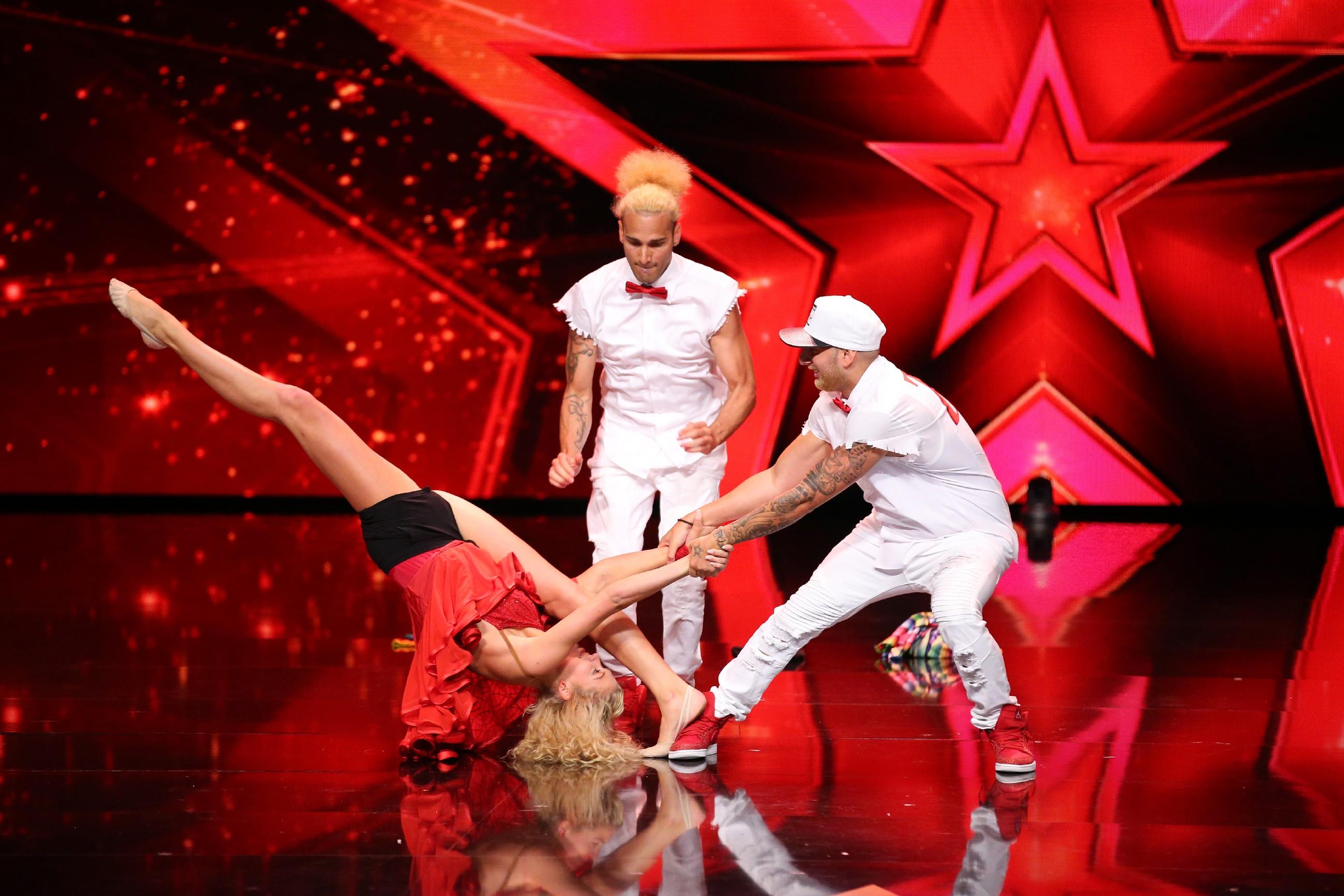 Das Supertalent 2016 - Rocky Pavlovic, Kim Wojtera und Tomy Pavlovic
