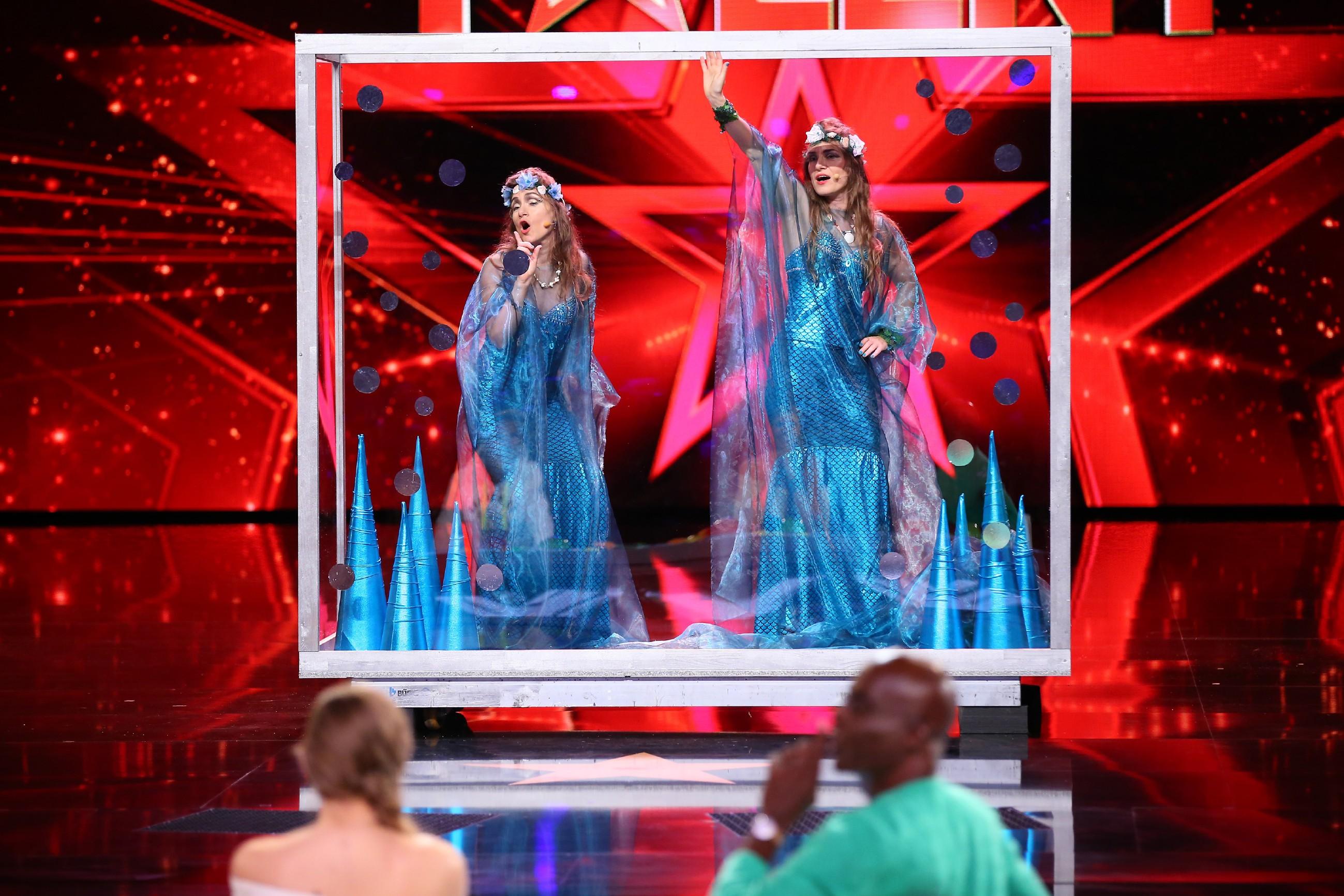 Das Supertalent 2016 - Nicole und Yvonne Scholich