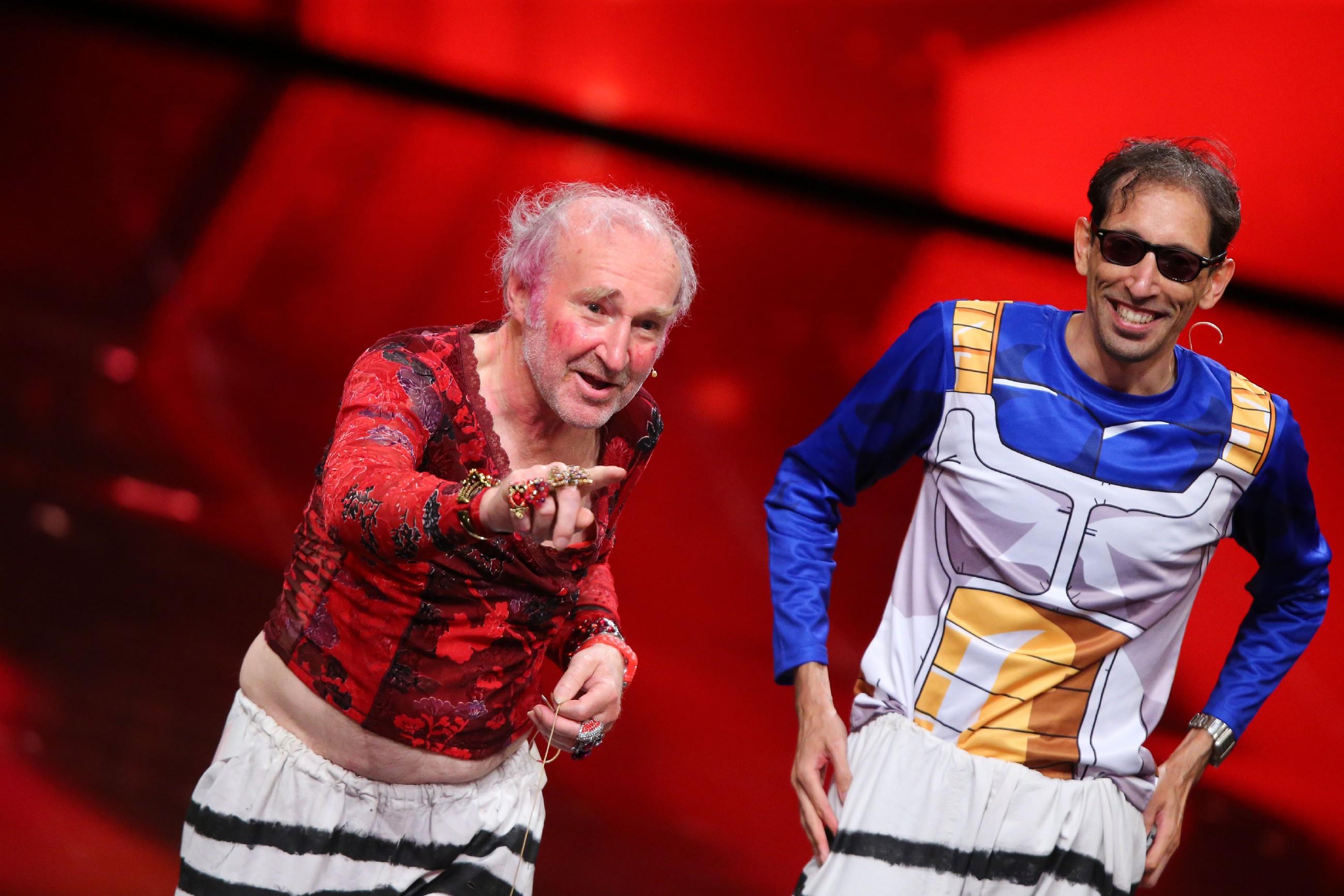 Das Supertalent 2016 Casting 2 - Ernst Guminski und Renaldo Speller