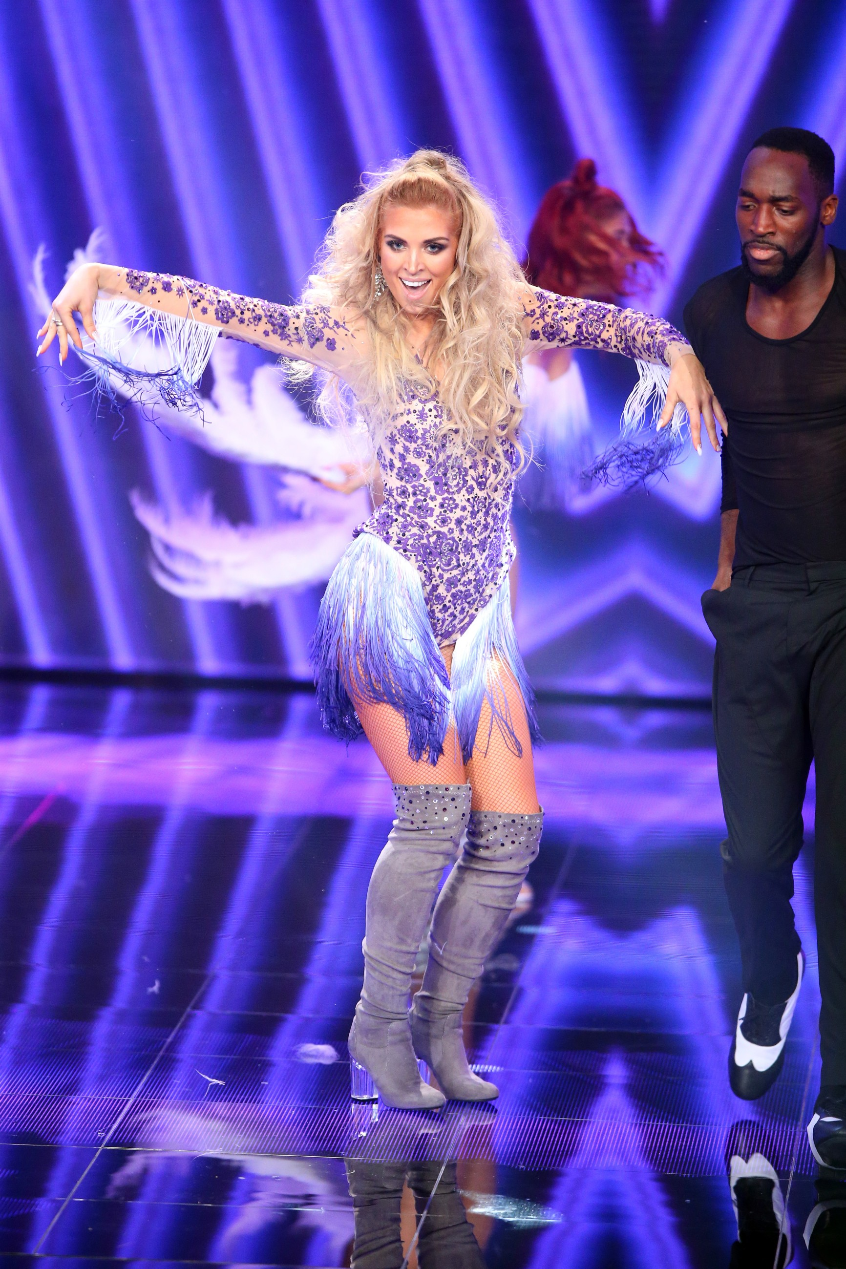 Dance Dance Dance Halbfinale - Aneta Sablik bei ihrem Solo