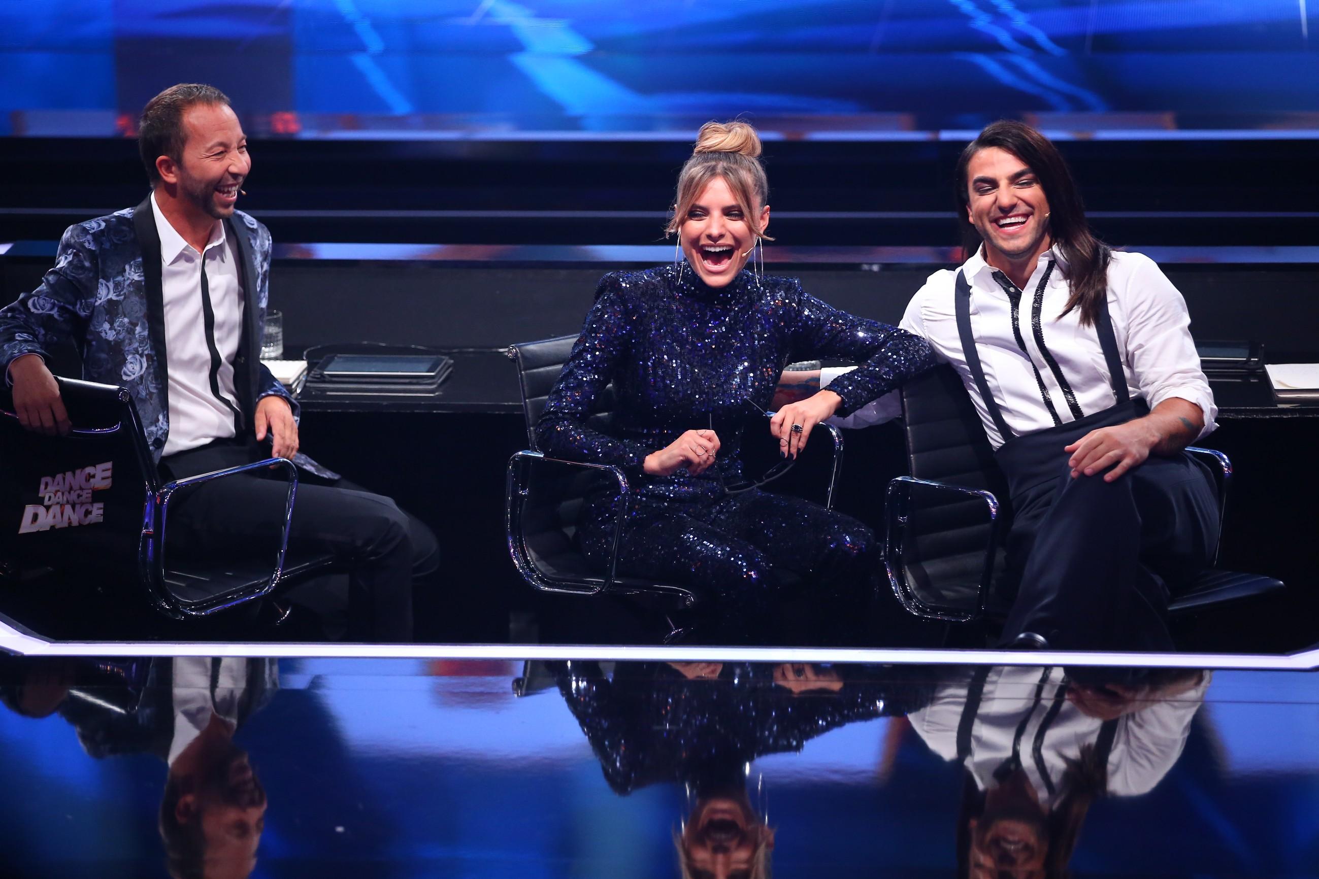 Dance Dance Dance Halbfinale - ophia Thomalla, DJ BoBo und Cale Kalay