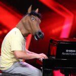 """Das Supertalent 2016 Casting 4 - Vincent Hoffmann als """"Crazy Piano Horse"""""""