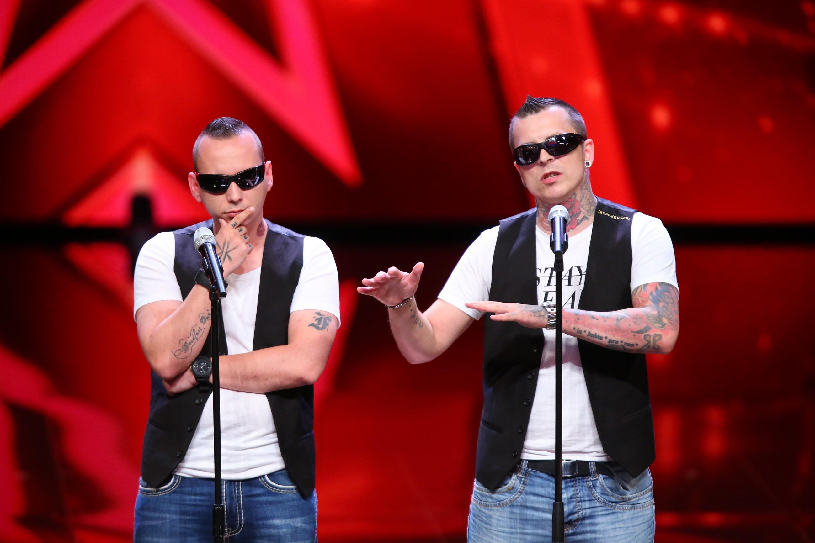 Das Supertalent 2016 - Sebastian Wendler und Rico Laue