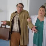 Triple Ex - Manuela Wisbeck als Schwester Britt und Alexander Schubert als Eugen