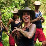 Dschungelcamp 2017 Einzug - Sarah Joelle Jahnel, Nicole Mieth, Gina-Lisa Lohfink und Alexander Honey Keen