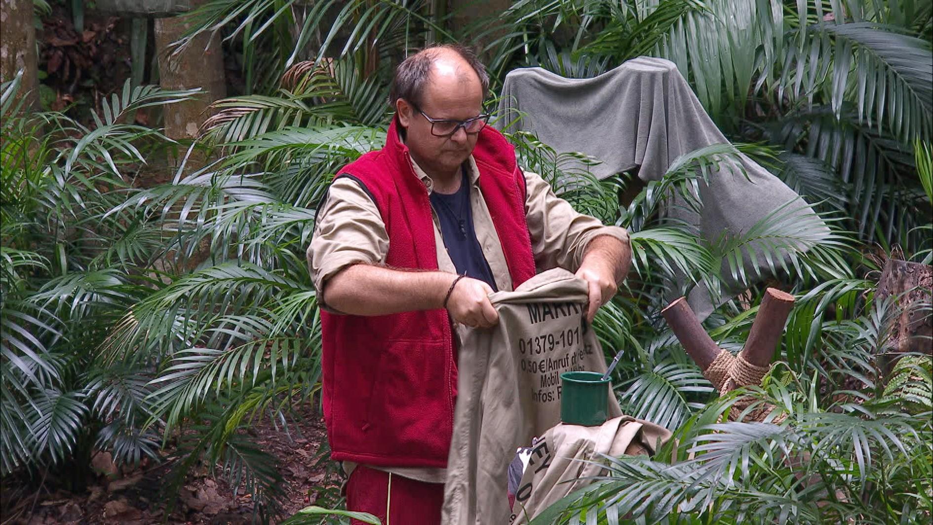 Dschungelcamp 2017 Tag 10 - Markus Majowski muss den Dschungel verlassen