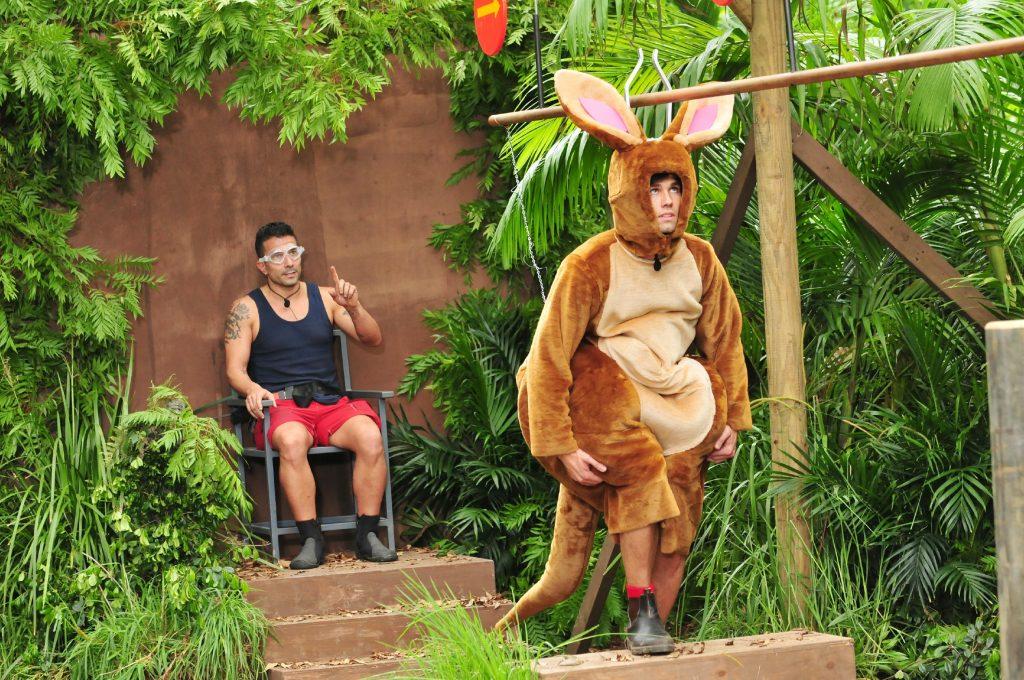 """Die Camper haben entschieden, dass Alexander """"Honey"""" Keen und Marc Terenzi (l.) zur heutigen Dschungelprüfung antreten müssen."""