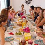 Der Bachelor 2017 Folge 4 - Die Ladys beim Frühstück