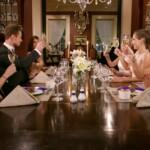 Der Bachelor 2017 Folge 6 - Sebastian mit den Ladys beim gemeinsamen Dinner