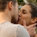 Der Bachelor Finale 2017 - Sebastian und Clea-Lacy küssen sich