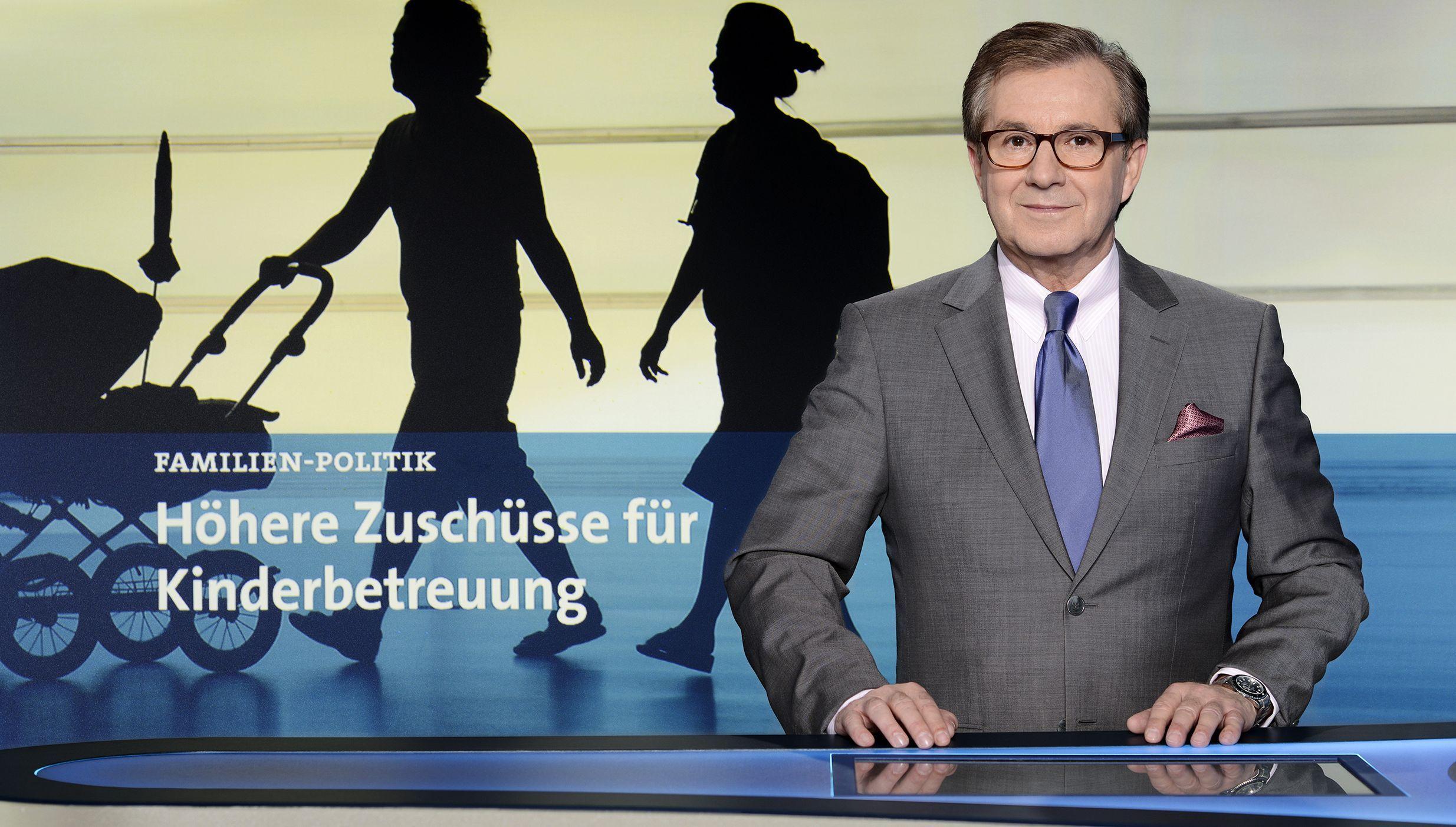 Tagesschau das ist das neue studio ab samstag stars on tv for Nachrichtensprecher zdf