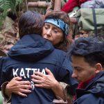 Dschungelcamp 2018 Tag 14 - Kattia verabschiedet sich von Tina und Matthias