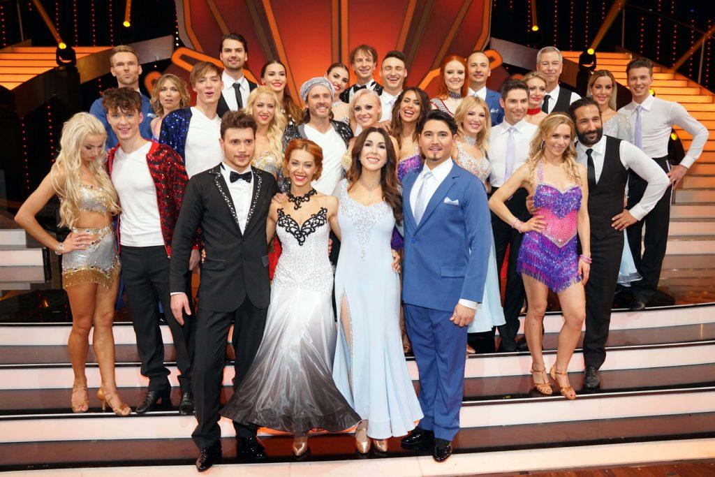 """Mit diesen 14 Paaren startet am 16. März 2018 die elfte Staffel von """"Let´s Dance""""."""