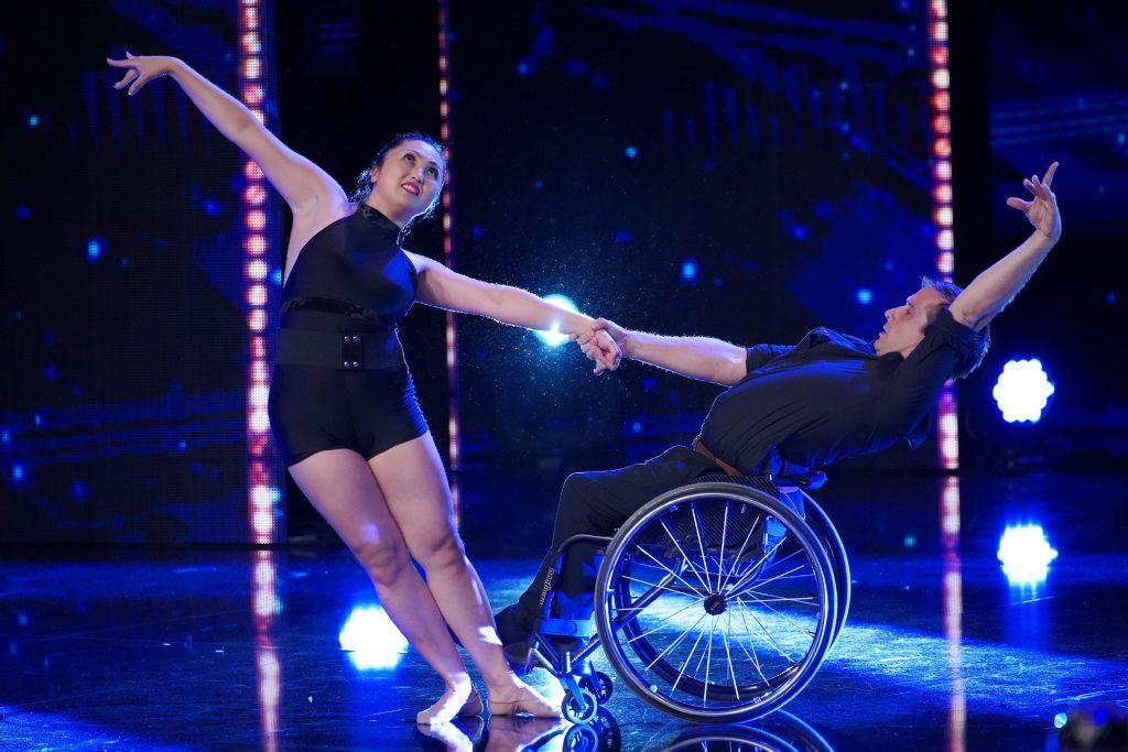 Marisa Hamamoto und Piotr Iwanicki - Tänzer aus Amerika.