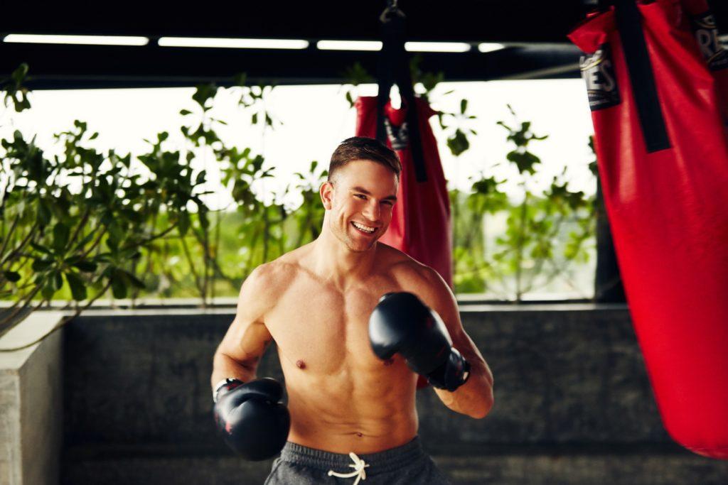 Der Bachelor Sebastian Preuss liebt den Boxsport