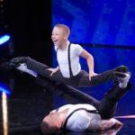 Das Supertalent 2019 Show 13 - Danylo Strakhov und Sohn Oscar
